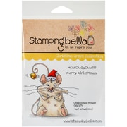 Stamping Bella Cling Rubber Stamps, Christmas Mouse
