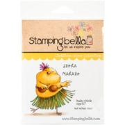 Stamping Bella Cling Rubber Stamps, Hula Chick
