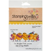 Stamping Bella Cling Rubber Stamps, One Of My Peeps