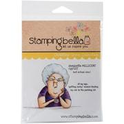 Stamping Bella Cling Rubber Stamps, Seniorita Millicent