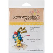 Stamping Bella Cling Rubber Stamps, Seniorita Viola