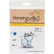 Stamping Bella Cling Rubber Stamps, Smarty Cat