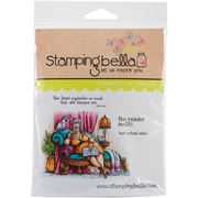 Stamping Bella Cling Rubber Stamps, The Reader