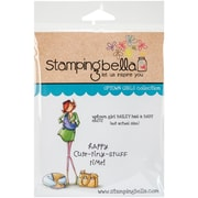 Stamping Bella Cling Rubber Stamps, Uptown Girl Bailey Has A Baby