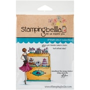Stamping Bella Cling Rubber Stamps, Uptown Girl Chandler Makes A Choice