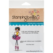 Stamping Bella Cling Rubber Stamps, Uptown Girl Farrah Loves Flashdance