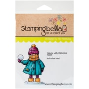 Stamping Bella Cling Rubber Stamps, Valerie With Snowball