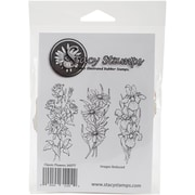 Stacystamps Cling Mounted Stamps, Classic Flowers