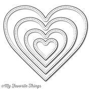 Die-Namics Pierced Heart Stax Die namics
