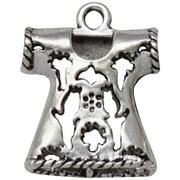 FabScraps Embellishments Silver, Filigree Top