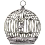FabScraps Embellishments 2.25 x 1.87 inch, Bird In A Cage