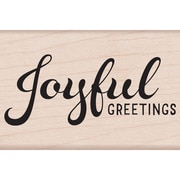Hero Arts Mounted Rubber Stamps Joyful Greetings