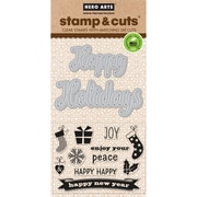Hero Arts Stamp & Cuts, Fancy Cut Holidays