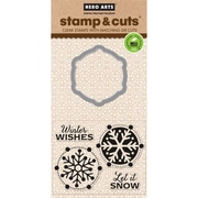 Hero Arts Stamp & Cuts, Let it Snow