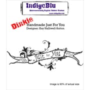 IndigoBlu Cling Mounted Stamp Handmade Just For You