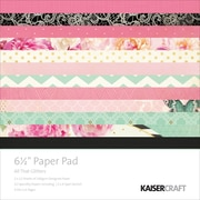 Kaisercraft 6.5 x 6.5 inch Paper Pad, All That Glitters