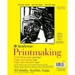 Strathmore Printmaking 8 x 11 inch Acid Free Paper Pad