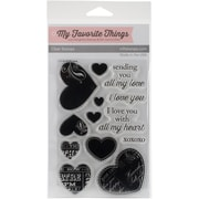 My Favorite Things Clear Stamps All My Love