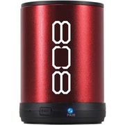 808™ Canz Bluetooth Wireless Speaker, 2W, Red