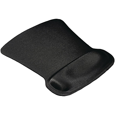 Allsop 174 Ergoprene Gel Mouse Pad With Wrist Rest Black