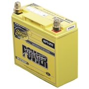 Stinger Power 300 A/12 VDC Dry-Cell Lead-Acid Vehicle Battery, Yellow