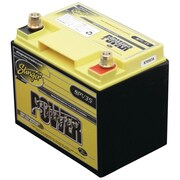 Stinger Power 525 A/12 VDC Dry-Cell Lead-Acid Vehicle Battery, Yellow