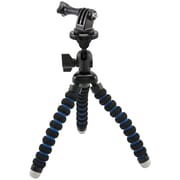 Arkon® GPROTRI Flexible Mini TriPod For GoPro® Hero Cameras, Black/Blue