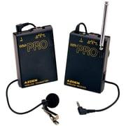 Azden® WLX-PRO VHF Wireless Lavalier Microphone System