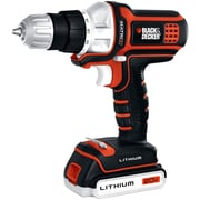 Black & Decker™ Matrix™ 20 V Lithium Drill/Driver With Matrix Cordless Drill Attachment, Orange