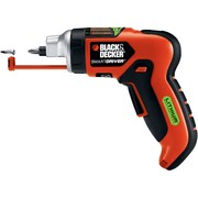 Black & Decker™ Matrix™ 4 V Maximum Lithium Rechargeable Screwdriver With Screw Holder, Red