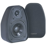"BIC America™ Venturi 3 1/2"" 2-Way Bookshelf Speaker, 125 W, Black"