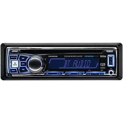 Boss 752UAB Single-DIN Mechless Bluetooth MP3 Player
