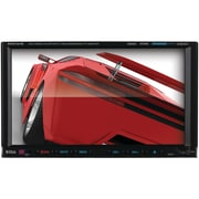 "Boss® In-Dash Double-DIN 7"" Motorized Touch-Screen Monitor Bluetooth DVD Player"