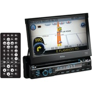 Boss® BV9980NV Single-DIN In-Dash DVD Receiver With Navigation And Bluetooth, 7""