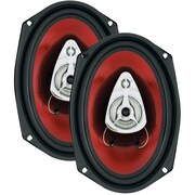 """Boss® CH6930 Chaos Exxtreme 6"""" x 9"""" 3 Way Full-Range Speakers, 400 W"""