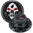 """Boss® SK653 Phantom Skull 6 1/2"""" 3 Way Full-Range Speaker, 350 W, Black"""