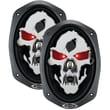 """Boss® SK693 Phantom Skull 6"""" x 9"""" 3 Way Full-Range Speaker, 600 W, Black"""