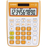 Casio® MS-10VC 10-Digit Standard Function Desktop Calculator, Orange