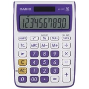 Casio® MS-10VC 10-Digit Standard Function Desktop Calculator, Purple