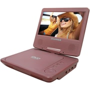 "Sylvania 7"" Portable DVD Player, Pink"