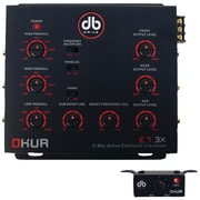 DB Drive™ Okur® Series 3-Way Electronic Crossover With Remote Bass Control
