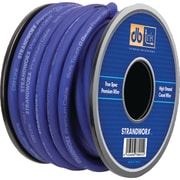 Db Link™ Strandworx™ Soft-Touch Power Wire, 0 Gauge, 50', Blue