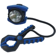 "Dorcy® 100-Lumens LED Clamp Light, Blue/Black, 8""H x 3.8""W x 1""D"