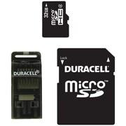 Duracell® 32GB microSD (micro Secure Digital) Class 4 Memory Card