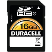 Duracell® SD (Secure Digital) Class 10 UHS-1 Memory Card, 16GB