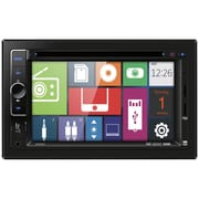 "Dual 6.2"" Double-DIN DVD Multimedia Receiver With Direct USB Control For iPod/iPhone"