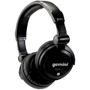 Gemini Over-Ear Professional DJ Headphone, Black