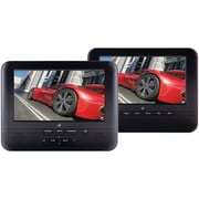 "GPX® 7"" Dual Screen Portable DVD"