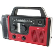 WeatherX WR383R AM/FM Weather-Band Radio With Flashlight and Lantern