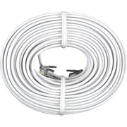 GE 76530 50' Line Cord For Phone/Modem, White